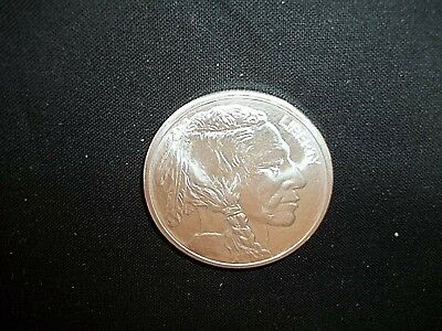 1 Oz. .999 Fine Silver Round, Buffalo Design , Listed Below Cost Price!