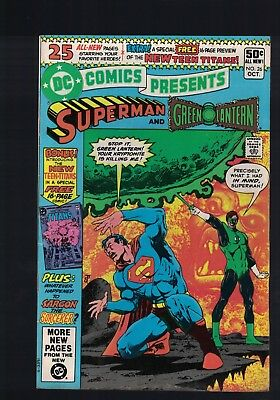 DC Comic presents Superman and Green Lantern no 26 Oct 1980 50c USA