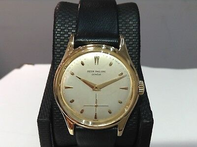 1953 PATEK PHILIPPE Ref. 2509 CALATRAVA 18K Y/Gold 35mm Mechanical Watch. RARE!!