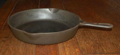 "Antique Griswold # 9 Small Logo Cast Iron 11 1/4"" A Skillet Frying Pan  A Beauty"