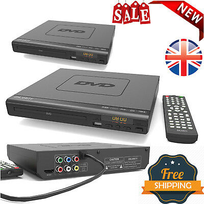 TOP QUALITY Compact DVD Player, Multi-Regions, USB, HDMI, FAST FREE SHIPPING