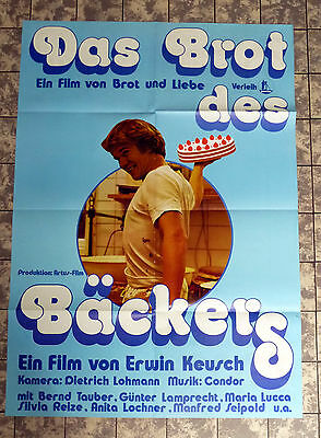 BROT DES BÄCKERS * A1-FILMPOSTER -German 1-Sheet ´76 Günter LAMPRECHT, B. TAUBER