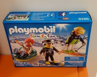 PLAYMOBIL/® Winter Sports Trio Building Set Playmobil Cranbury 9286