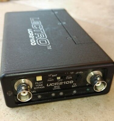 Audio For Video Video Production & Editing Lectrosonics Ucr210d Wireless Mic Receiver Block 24
