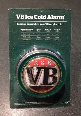 VB Ice Cold Alarm Fridge Magnet/Timer BRAND NEW
