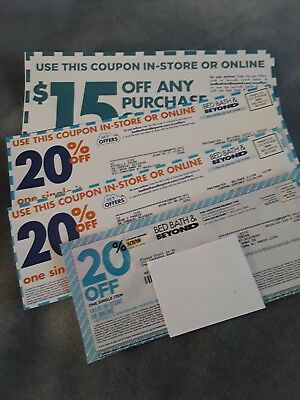 4- Bed Bath and Beyond Coupons.