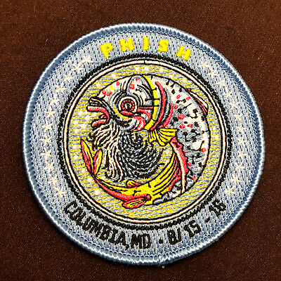 Phish PATCH from Merriweather Post Pavillion 2015 Columbia MD Not a ticket