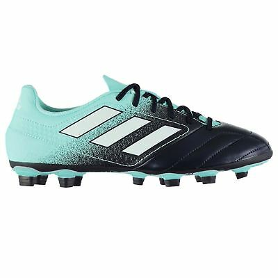 8872b9372e08 adidas Ace 17.4 FG Firm Ground Football Boots Mens Blue Soccer Shoes Cleats