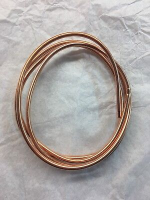 Ф4mm OD 4.5 FT MICROBORE COPPER LUBRICATION PLUMBING PIPE TUBING TUBE COIL Showa