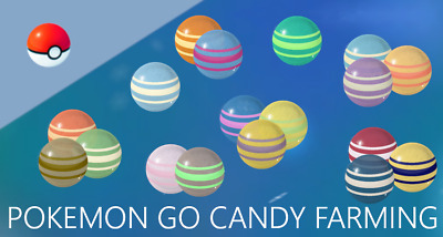 Pokemon Go Farm 125 Candy (Read Description)