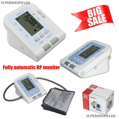 Electronic Sphygmomanometer Fully automatic Digital Arm blood pressure Monitor