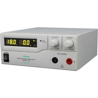 MANSON 1-60Vdc 2.5A Lab. Power Supply Remote Programmable