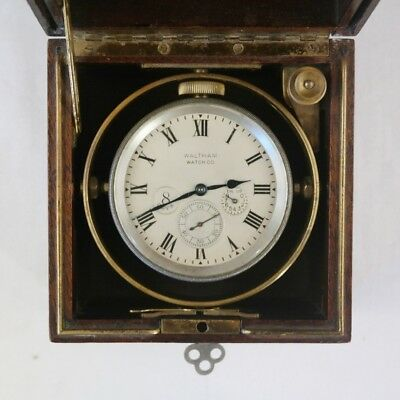 Eigth-days Chronometer  – Waltham, Massachusetts, early 20th century