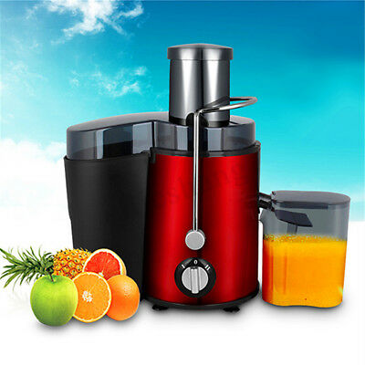MECO Juicer Cold Press Fruit Vegetables Stainless Steel Juice Extractor Mixer