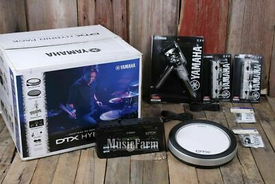 Yamaha DTXHP587 10 Piece Hybrid Electronic Drum Set Add On with DTX502 Triggers