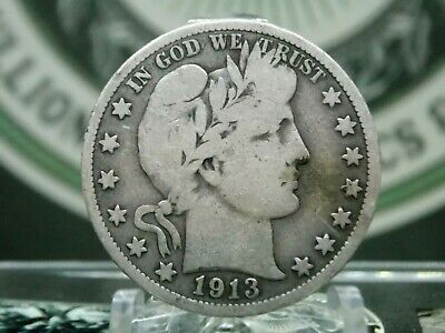"1913 ""P"" Barber Half Dollar 50c #3 KEY DATE East Coast Coin & Collectables, Inc."