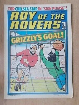 VINTAGE BOYS COMIC ROY OF THE ROVERS 22nd APRIL 1978