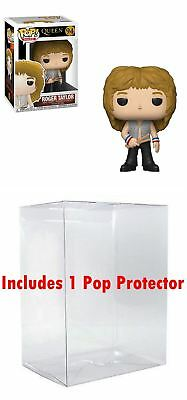 Funko POP! Queen: Roger Taylor + Bundled with Pop BOX PROTECTOR CASE