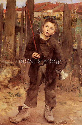 Jules Bastien-Lepage Pas Meche Nothing Diong Artist Painting Handmade Oil Canvas