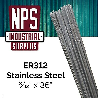 "1.14mm Rod Diameter: .045/"" Pack ER347- Stainless Steel TIG Welding Rod- 1lb"