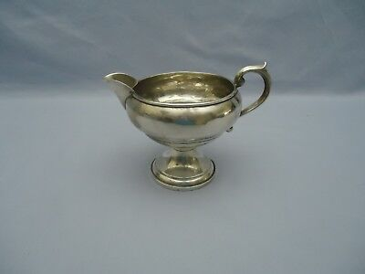 1883 F B Rogers Silver Co Sterling Creamer 135 94g weighted