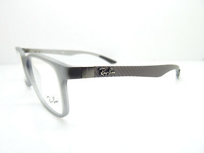 88ee33d4873a1 Ray Ban RB 8903 5244 Matte Transparent Grey Glasses