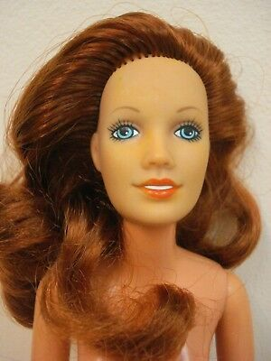 Darci Fashion Model Doll~Kenner~1978~Red Haired~Fully Articulated Tlc~For Repair