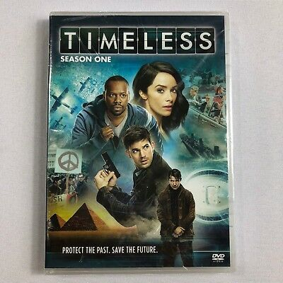 TIMELESS The Complete First Season 1 One (DVD,2017,4-Disc Set) NEW BJ