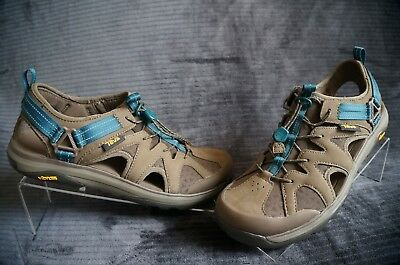 86a2c93f4c2a44 TEVA WOMEN TERRA Float Active Lace Chocolate Chip Sandals Waterproof ...