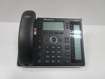Audiocodes 440Hd Ip Phone With Handset And Base Used See Photos