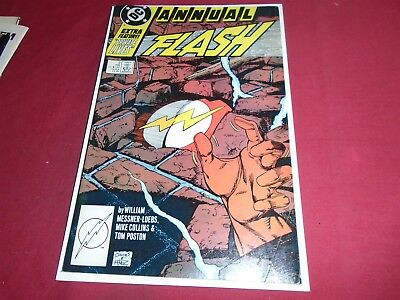 THE FLASH ANNUAL #2 Wally West - DC Comics (2nd Series 1988) VF