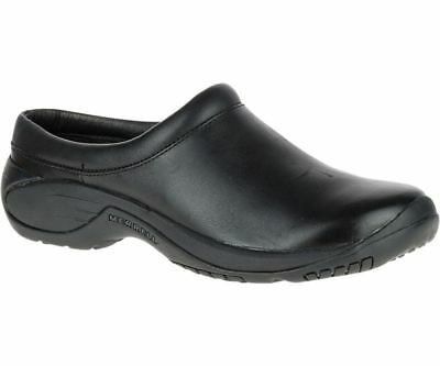Merrell Encore Gust Smooth Leather Slip On Mens Casual Shoe ~Black or Brown~
