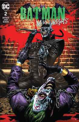 Batman Who Laughs 2 Mico Sauyan Unknown Variant Nm