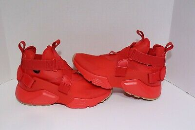 e6d2f1bad7eb9 WOMENS NIKE HUARACHE City Speed Red AH6787-600 Size 7 NIB -  94.99 ...