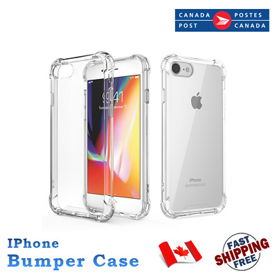 For Apple iPhone 6 7 8 Plus shockproof clear Soft TPU Phone Case Waterproof