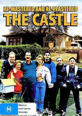 The Castle 1997 Remastered And Re-Plastered Dvd New Sealed