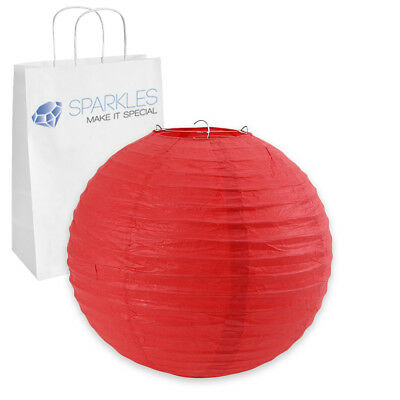 """5 pcs 14"""" inch Chinese Paper Lantern - Red - Wedding Party Event Decoration uu"""