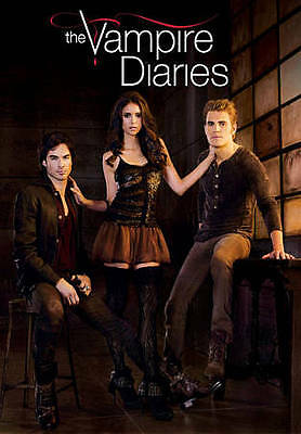 The Vampire Diaries:The Fourth Season 4 (DVD, 2013, 5-Disc) Free Ship US SELLER