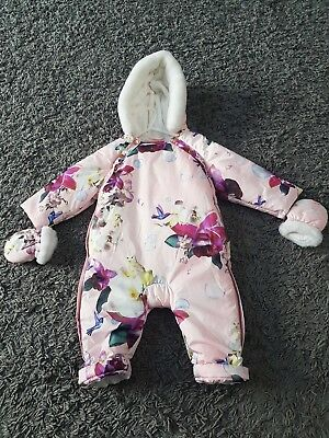 Ted BAKER SNOW SUIT/Pramsuit 9-12 months