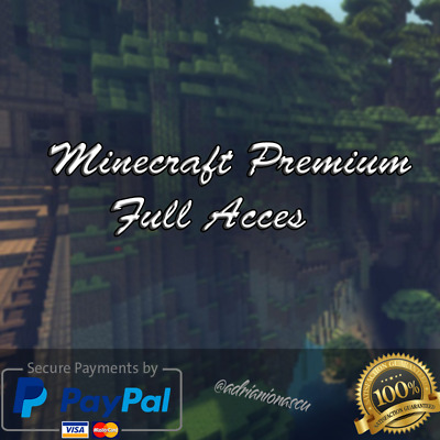 Minecraft | UNMIGRATED|  Premium Account | FULL ACCESS | 12-24H DELIVERY |
