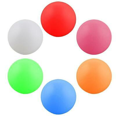 10Pcs 40mm 6Colors Table Tennis Balls  Ping-pong Ball Seamless HighHardness DECO