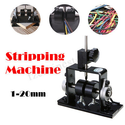Manual Stripping Machine Cable Scrap Recycle Tool Copper Wire Stripper 1-20mm