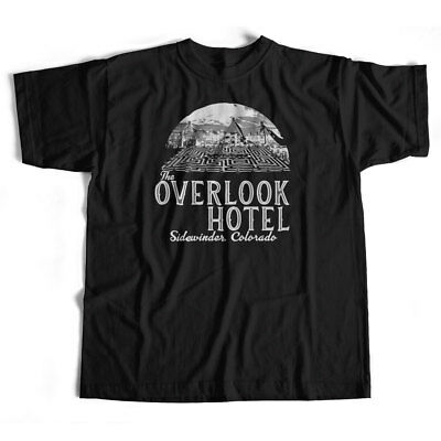 Inspired by The Shining T Shirt - Overlook Hotel Logo Cult Movie Kubrick Horror