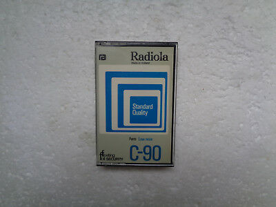 Vintage Audio Cassette RADIOLA Standard Quality C-90 * Rare From Holland 1975 *