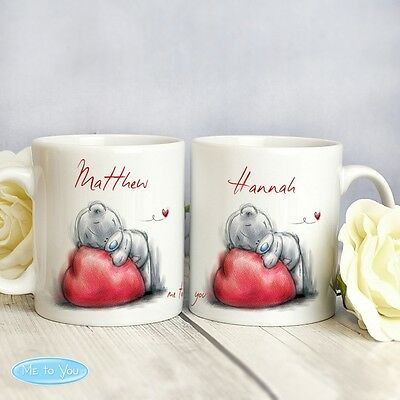 Personalised Mug Set Me To You Valentines Day Anniversary Gift Idea Couples