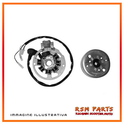 6620662 Stator and flywheel Complete Long Cables Benelli K2 | K2 Lk 50 98 | 99