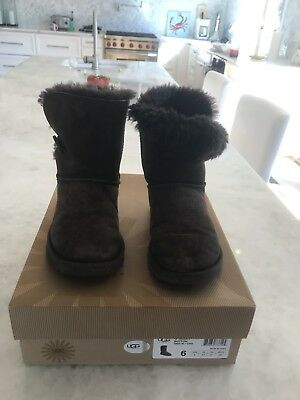 Ugg Luisa Boots Women S Size 5 5 Chocolate Brown 55 50 Picclick