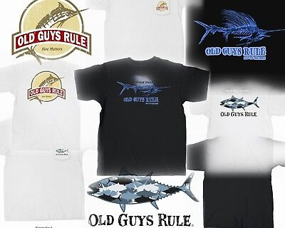 02daaa82 3 Old Guys Rule Fishing T-Shirts All With Pockets Size M You Get All