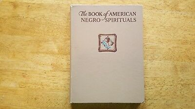 The Book of American Negro Spirtuals First Ed. Viking Press, 1925