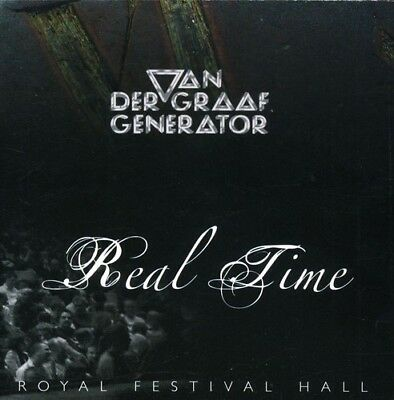 Real Time-Live Royal Festival Hall - 2 DISC SET - Van Der Graaf  (2007, CD NEUF)